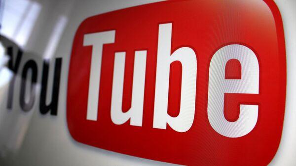 Логотип видеопортала YouTube - Sputnik France
