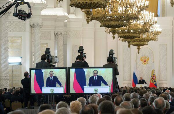 Message de Vladimir Poutine au parlement russe (SYNTHESE) - Sputnik France