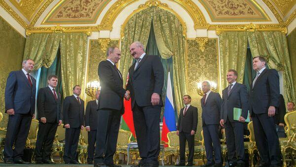 Vladimir Poutine et Alexandre Loukachenko - Sputnik France