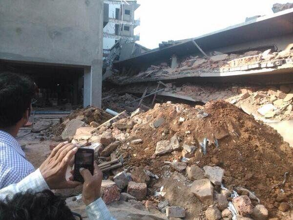 Un immeuble s'effondre à Goa - Sputnik France