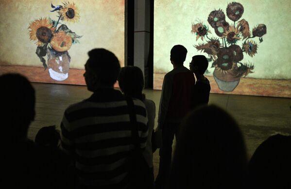 Exposition Van Gogh alive à Moscou - Sputnik France