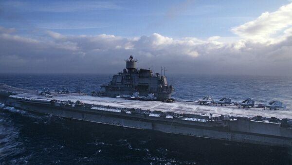 Admiral Kouznetsov - Sputnik France