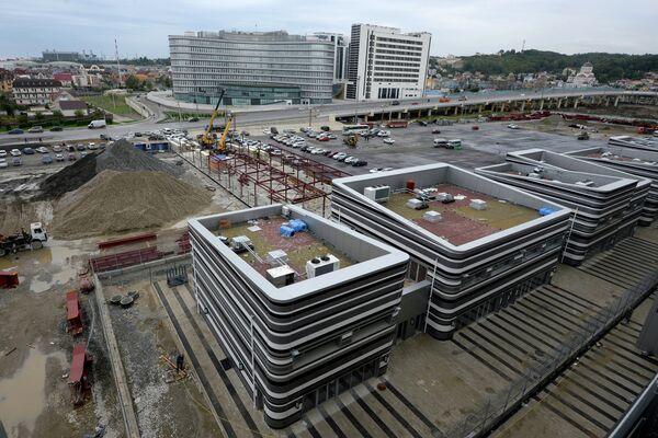 Circuit de Formule 1 en chantier à Sotchi - Sputnik France