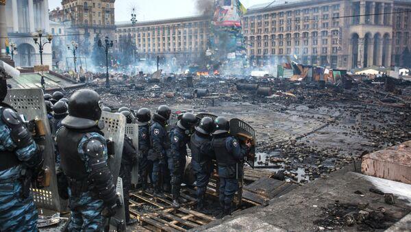 Ukraine: les forces Berkout dissoutes par décret ministériel - Sputnik France