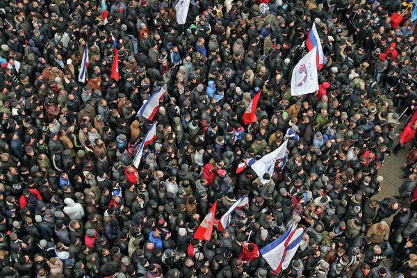 Crimée: Simféropol sous haute tension - Sputnik France