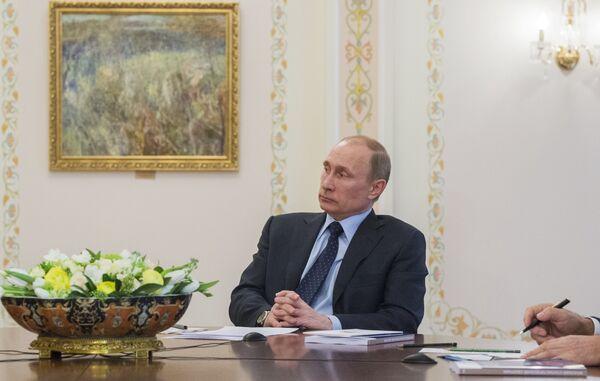 La crise en Ukraine risque de se répercuter sur l'Union douanière (Poutine) - Sputnik France