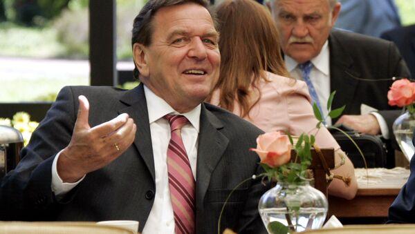 L'ex-chancelier allemand Gerhard Schröder - Sputnik France