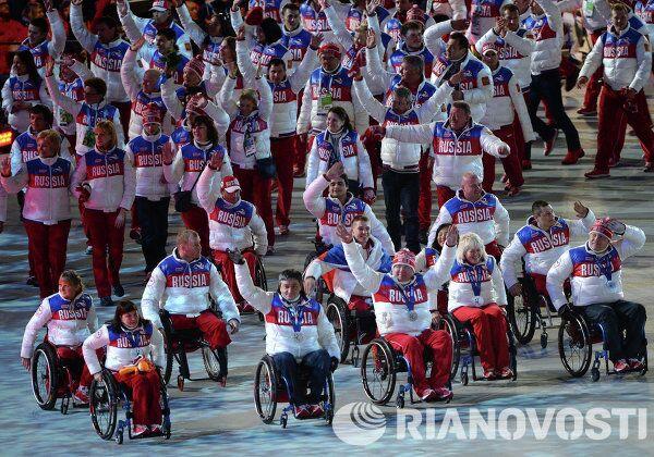 Cérémonie de clôture des Jeux paralympiques d'hiver 2014 à Sotchi - Sputnik France
