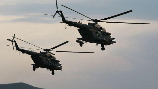 Вертолеты Ми-8 АМТШ - Sputnik France