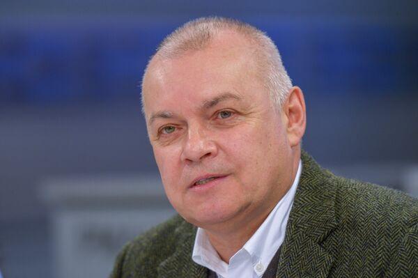 Le directeur général de l'agence internationale Rossia Segodnia Dmitri Kisselev - Sputnik France