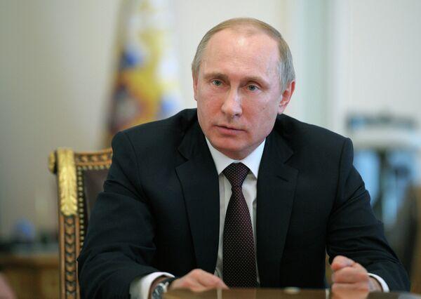 Président ruse Vladimir Poutine - Sputnik France