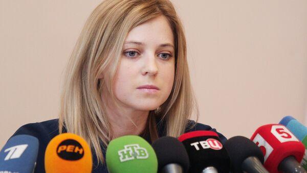 Natalia Poklonskaïa, procureur général de la République de Crimée - Sputnik France