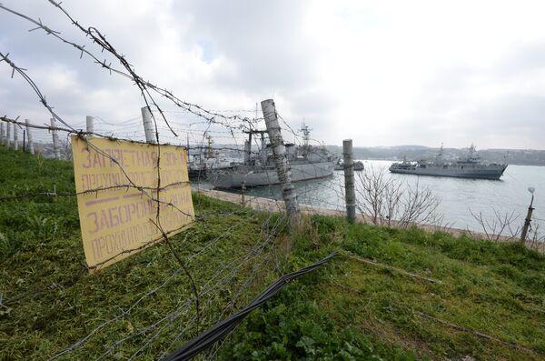 Crimée: des navires de guerre ukrainiens toujours à Sébastopol - Sputnik France