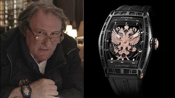 Fier d'être Russe: une ligne de montres suisses de Depardieu - Sputnik France