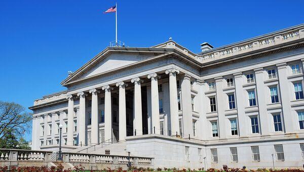 Министерство финансов США в Вашингтоне - Sputnik France