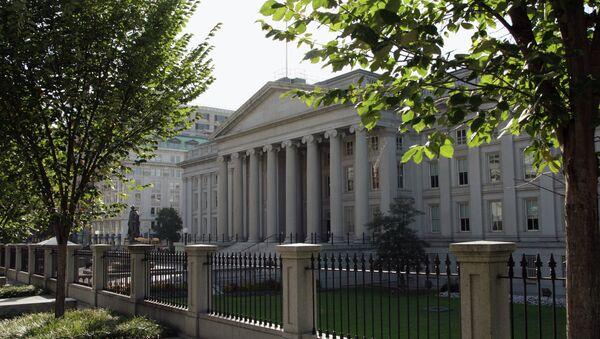 Ministère des Finances de USA à Washington - Sputnik France