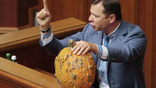 Le nationaliste Oleg Liachko à la tribune de la Rada suprême - Sputnik France