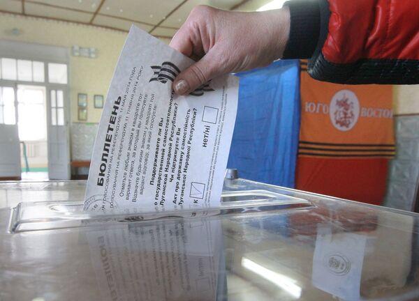Référendum dans le Sud-Est de l'Ukraine - Sputnik France