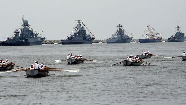 La Marine russe a simulé une bataille navale en mer Méditerranée - Sputnik France