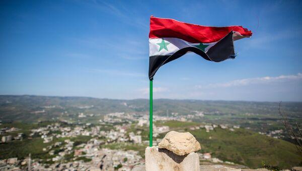 Освобожденная от боевиков крепость Крак де Шевалье в Сирии - Sputnik France