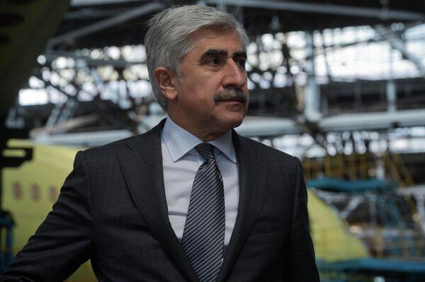 Le PDG du Consortium aéronautique unifié (OAK) Mikhaïl Pogossian - Sputnik France