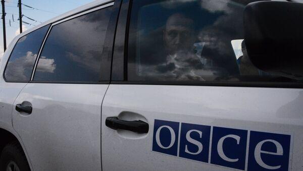 Военные наблюдатели ОБСЕ прибыли в Донецкой области - Sputnik France
