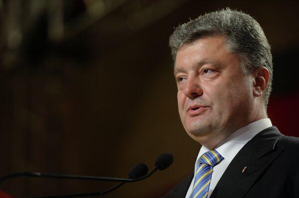 Président ukrainien élu Piotr Porochenko - Sputnik France