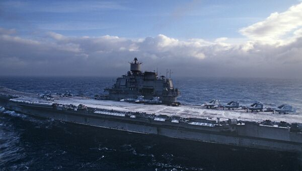 Le porte-avions Admiral Kouznetsov - Sputnik France