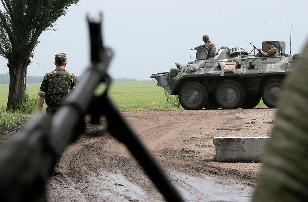 Slaviansk: les insurgés affirment avoir détruit 20 blindés ukrainiens - Sputnik France