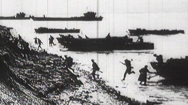 Le débarquement de Normandie, images d'archive - Sputnik France