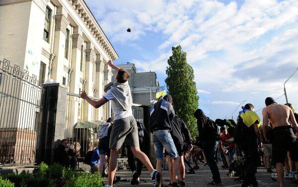 Attaque de l'ambassade russe à Kiev: l'UE condamne (officiel) - Sputnik France