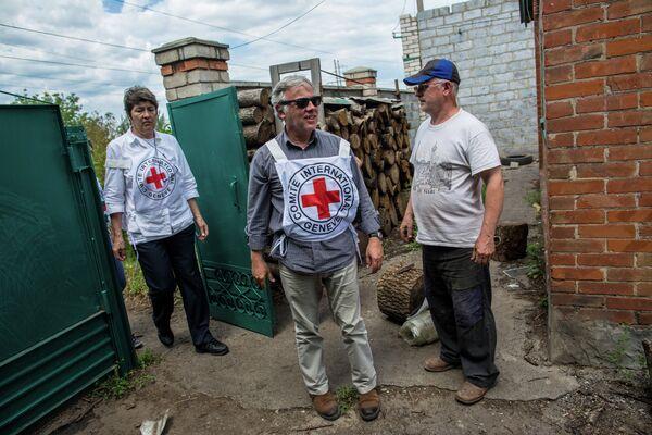 Russie-Croix-Rouge: coopération humanitaire sur l'Ukraine, Gaza et la Syrie - Sputnik France