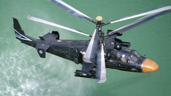 Ka-52 Alligator - Sputnik France