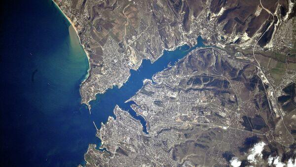 La Crimée prise en photo depuis l'ISS - Sputnik France