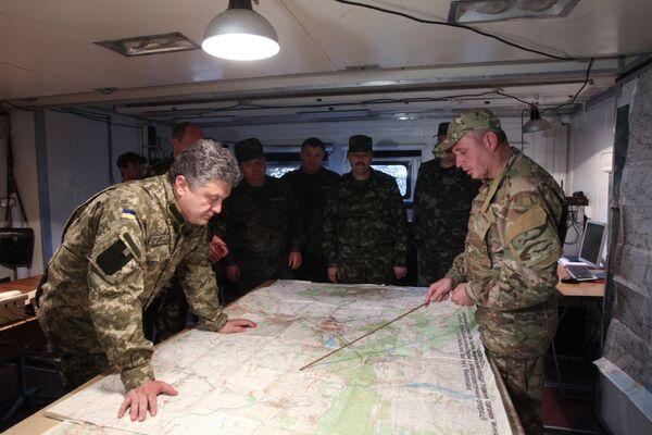 Porochenko annonce la fin du cessez-le-feu en Ukraine - Sputnik France