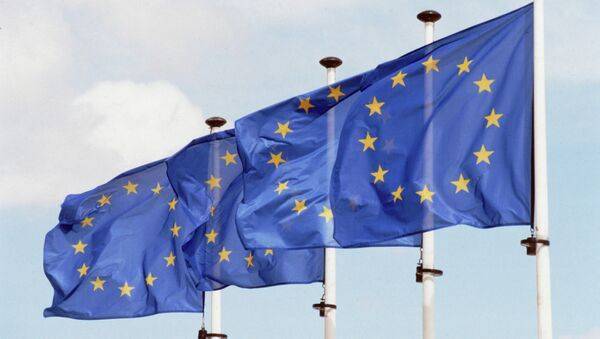 Флаги Евросоюза - Sputnik France