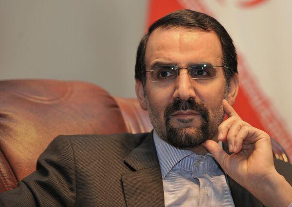 L'ambassadeur d'Iran à Moscou Mehdi Sanaï - Sputnik France