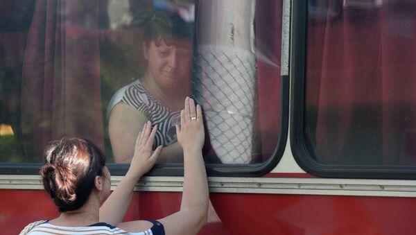 réfugiés de Donetsk - Sputnik France