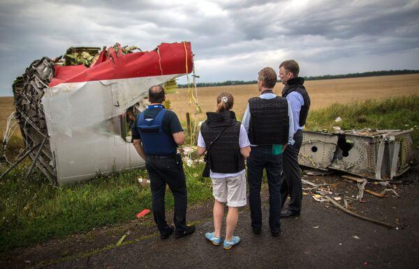 Crash du MH17: Interpol entame l'identification des victimes - Sputnik France