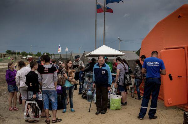 Plus de 48.000 Ukrainiens demandent l'asile en Russie - Sputnik France