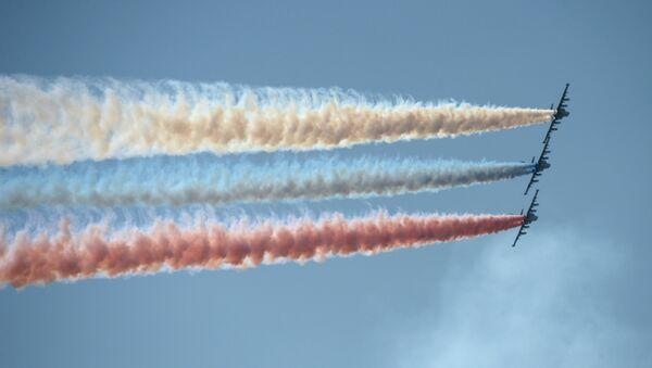 Международный конкурс воздушной выучки летных экипажей Авиадартс-2014 - Sputnik France