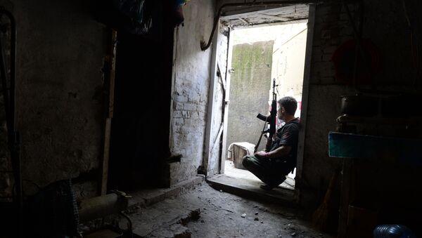 La situation à Chakhtersk (region de Donetsk) - Sputnik France