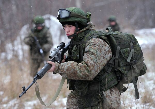 Soldat du futur russe: les équipements livrés à l'armée en octobre - Sputnik France