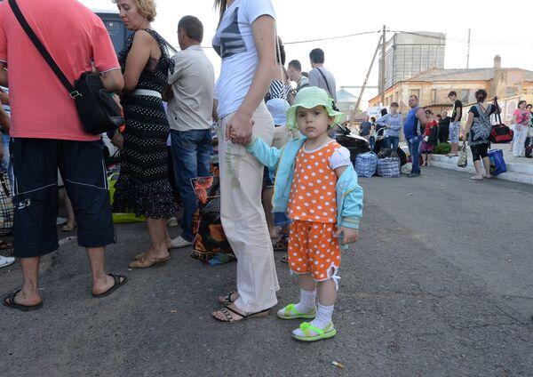 Ukraine: 6.200 personnes ont quitté leurs foyers en une semaine (Onu) - Sputnik France