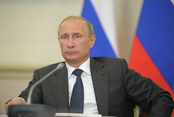 Vladimir Poutine, président russe - Sputnik France