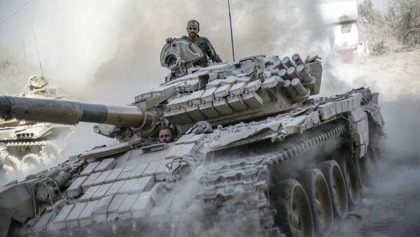 armée syrienne - Sputnik France