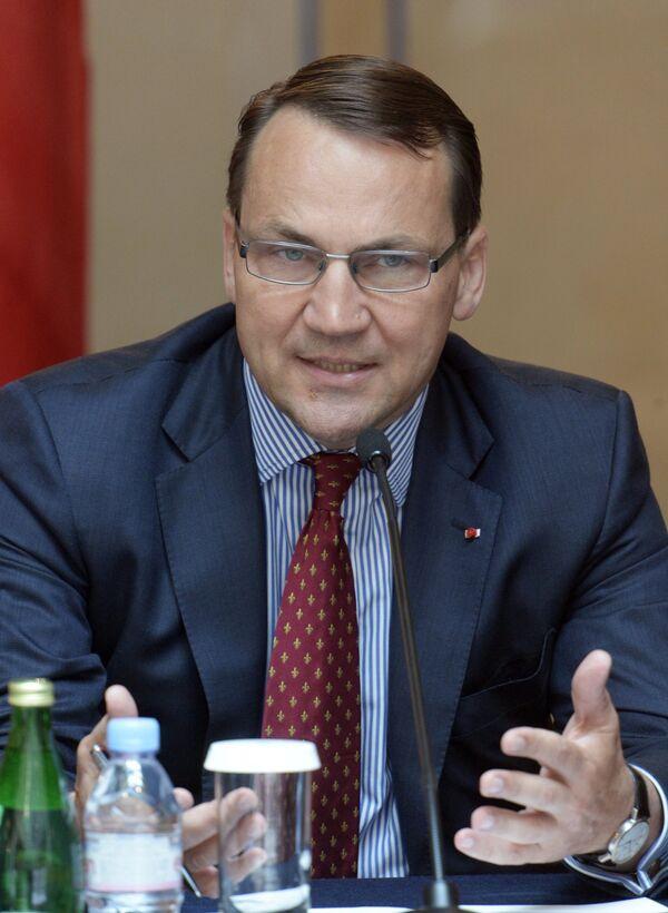 Radoslaw Sikorski - Sputnik France