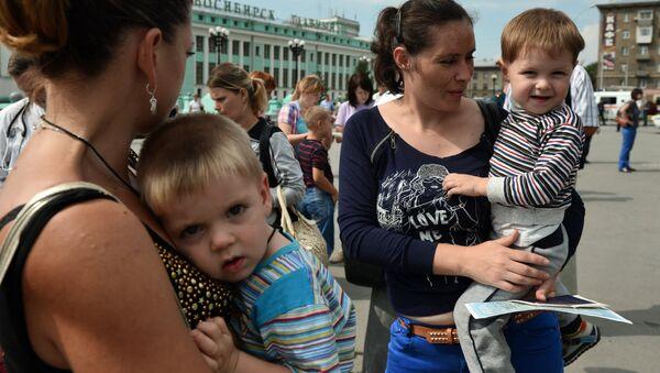Guerre en Ukraine: 17.000 enfants dans les centres d'accueil russes - Sputnik France
