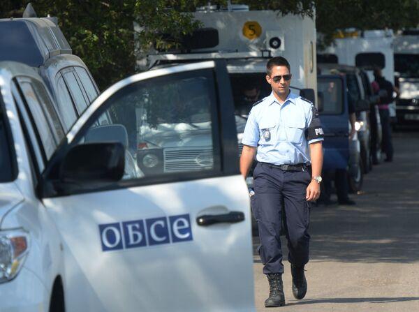 Ukraine/convoi russe: l'OSCE assistera au franchissement de la frontière - Sputnik France