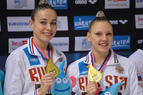 Daria Korobova et Svetlana Kolesnichenko - Sputnik France